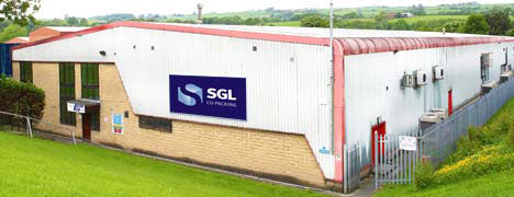 One of SGL Co-packing's packing facilities at Nelson, Lancashire, in the UK