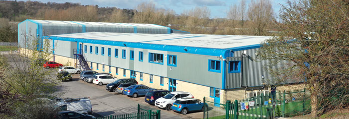 Photo of our principal factory (SGL1) in Nelson, Lancashire